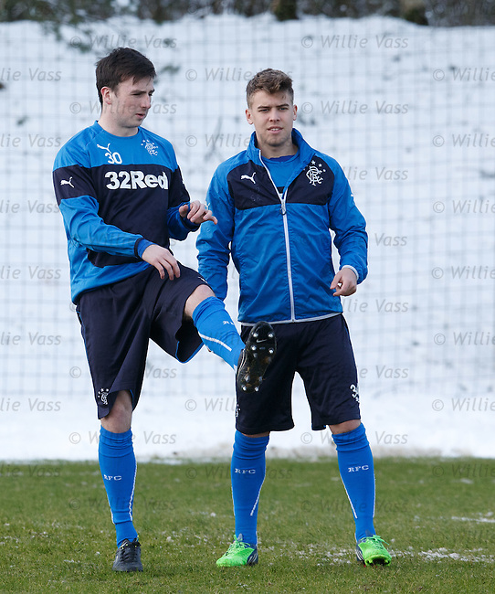 Calum Gallagher and Andy Murdoch