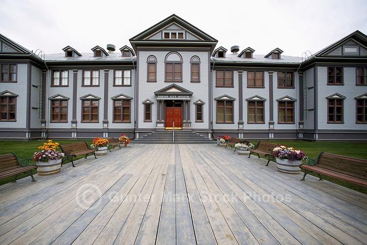 Dawson City, YT, Yukon Territory, Canada - National Historic Site, Dawson City Museum