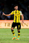 SHENZHEN - JULY 28: Borussia Dortmund midfielder Nuri Sahin during the match between Borussia Dortmund vs Manchester City FC at the 2016 International Champions Cup China match at the Shenzhen Stadium on 28 July 2016 in Shenzhen, China. (Photo by Power Sport Images/Getty Images)