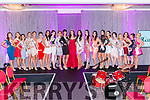 The Miss Kerry 2017 contestants in The Brehon Hotel last Friday night.
