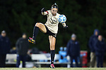 21 November 2014: Colorado's Darcy Jerman. The University of North Carolina Tar Heels hosted the University of Colorado Buffaloes at Fetzer Field in Chapel Hill, NC in a 2014 NCAA Division I Women's Soccer Tournament Second Round match. UNC won the game 1-0 in overtime.