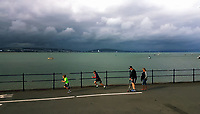 2017 06 25 Dramatic sky over Swansea Bay, Wales, UK