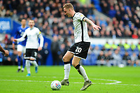 Ben Wilmot of Swansea City in action during the Sky Bet Championship match between Cardiff City and Swansea City at the Cardiff City Stadium in Cardiff, Wales, UK. Sunday 12 January 2020