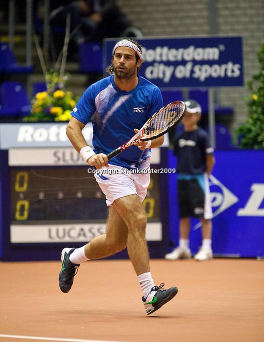 11-12-09, Rotterdam, Tennis, REAAL Tennis Masters 2009, Raemon Sluiter