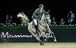Henrik von Eckermann of Germany riding Crespo PKZ in action during the Gucci Gold Cup as part of the Longines Hong Kong Masters on 14 February 2015, at the Asia World Expo, outskirts Hong Kong, China. Photo by Johanna Frank / Power Sport Images