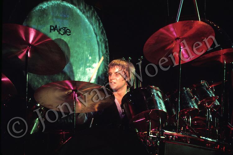 Carl Palmer of the rock group Emerson, Lake & Palmer.