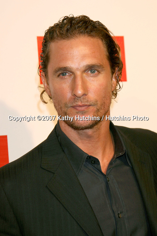"Matthew McConaughey.""Planet in Peril"" Screening After Party .Hollywood Roosevelt Hotel.Los Angeles,  CA.October 17, 2007.©2007 Kathy Hutchins / Hutchins Photo...               ."