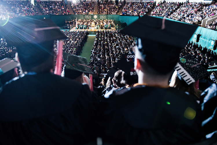 2014 Ohio University Commencement Ceremony. Photo by Olivia Wallace / Ohio University