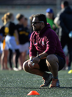 Wanganui coach Shane Ratima. Day two of the 2016 Air NZ Rippa Rugby Championship at Wakefield Park, Wellington, New Zealand on Tuesday, 23 August 2016. Photo: Dave Lintott / lintottphoto.co.nz