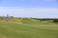The 3rd hole during Thursday's Round 1 of the 117th U.S. Open Championship 2017 held at Erin Hills, Erin, Wisconsin, USA. 15th June 2017.<br /> Picture: Eoin Clarke | Golffile<br /> <br /> <br /> All photos usage must carry mandatory copyright credit (&copy; Golffile | Eoin Clarke)