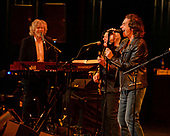 FORT LAUDERDALE, FL - JANUARY 09: Rod Argent, Jim Rodford and Colin Blunstone of The Zombies perform at The Parker Playhouse on February 9, 2018 in Fort Lauderdale Florida. Credit Larry Marano © 2018
