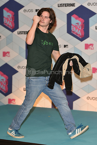Lukas Graham (Danish)<br /> 2016 MTV EMAs in Ahoy Arena, Rotterdam, The Netherlands on November 06, 2016.<br /> CAP/PL<br /> &copy;Phil Loftus/Capital Pictures /MediaPunch ***NORTH AND SOUTH AMERICAS ONLY***