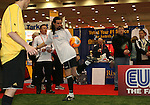 17 January 2008: Former U.S. National teamer Marcelo Balboa shows off his skills during a demonstration. The 2008 National Soccer Coaches Association of America's annual convention was held at the Convention Center in Baltimore, Maryland.
