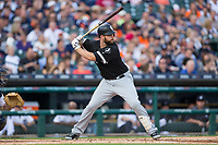 Matt Davidson (24) of the Chicago White Sox at bat against the Detroit Tigers at Comerica Park on June 2, 2017 in Detroit, Michigan.  The Tigers defeated the White Sox 15-5.  (Brian Westerholt/Four Seam Images)