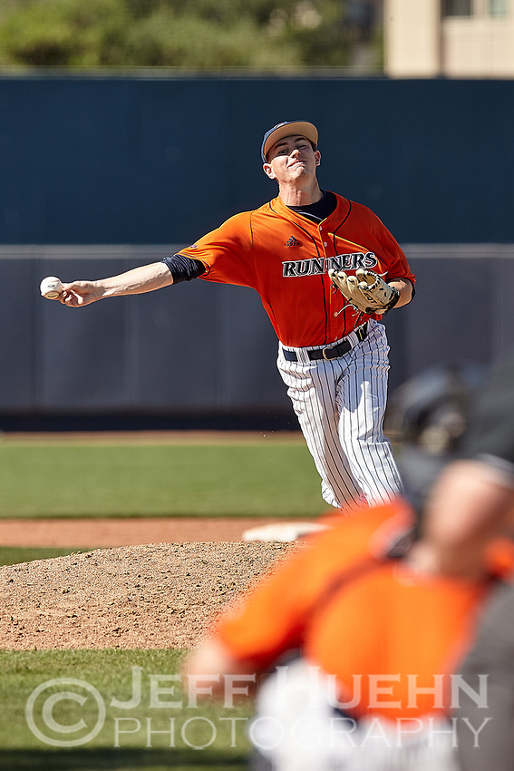 SAN ANTONIO, TX - MAY 6, 2018: The University of Texas at San Antonio Roadrunners defeat the Rice University Owls 7-0 at Roadrunner Field. (Photo by Jeff Huehn)