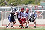 Palos Verdes, CA 04/26/09 -  Tyler Gonzalez (PV#9) and Unidentified Palos Verdes player(s)