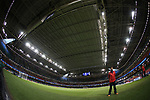A fisheye view of the closed roof during the Champions League Final match at the Millennium Stadium, Cardiff. Picture date: June 3rd, 2017.Picture credit should read: David Klein/Sportimage