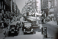 Berlin: In the twentie's, Friedrichstrasse at the corner of the Leipzigerstrasse. Reference only.
