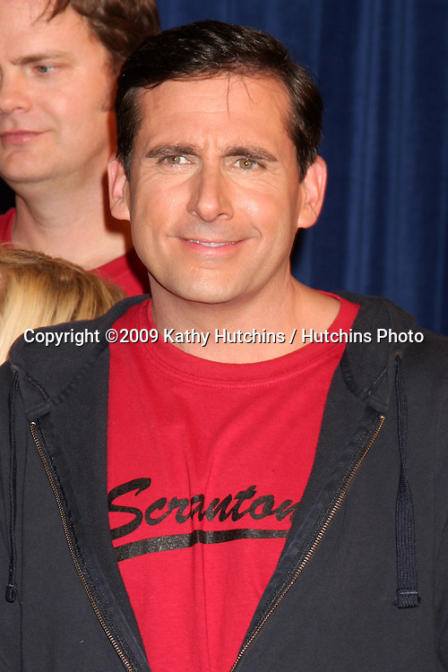 """Steve Carell  - 100th Episode of """"The Office""""  On Location at Calamigos Ranch in Malibu , CA on April 14, 2009.©2009 Kathy Hutchins / Hutchins Photo....                ."""