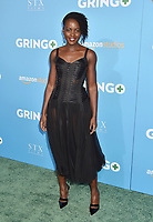 LOS ANGELES, CA - MARCH 06: Actress Lupita Nyong'o attends the world premiere of 'Gringo' from Amazon Studios and STX Films at Regal LA Live Stadium 14 on March 6, 2018 in Los Angeles, California.<br /> CAP/ROT/TM<br /> &copy;TM/ROT/Capital Pictures