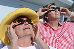 Solar Eclipse viewing at JCDO