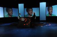 Cecil Kyenge Ministro dell'integrazione e Lucia Annunziata .05/05/2013 Roma il ministro ospite della trasmissione 8 e mezzo .Foto Gb Insidefoto