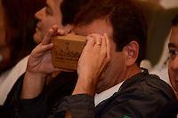 RIO DE JANEIRO - 29,07,2016 - PAES-RJ - O prefeito do Rio de Janeiro Eduardo Paes durante lançamento da coleção Google sobre a história e cultura da cidade no Museu do Amanhã na região central do Rio de Janeiro nesta sexta-feira, 29. (Foto: Jorge Hely/Brazil Photo Press)