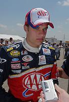 Apr 28, 2007; Talladega, AL, USA; Nascar Nextel Cup Series driver David Ragan (6) during qualifying for the Aarons 499 at Talladega Superspeedway. Mandatory Credit: Mark J. Rebilas