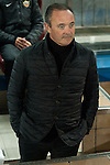 Almeria´s coach Juan Ignacio Martinez during 2014-15 La Liga match between Atletico de Madrid and Almeria at Vicente Calderon stadium in Madrid, Spain. February 21, 2015. (ALTERPHOTOS/Luis Fernandez)