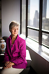 Rosemary Vrablic, Managing Director of Deutsche Bank's U.S. Private Wealth Management business, poses for a portrait at Deutsche Bank's Park Avenue offices on January 24, 2012 in New York City.  Photograph by Michael Nagle