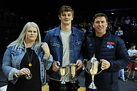Nelson Giants award winner after the national basketball league final  between Wellington Saints and Southland Sharks at TSB Bank Arena in Wellington, New Zealand on Sunday, 5 August 2018. Photo: Dave Lintott / lintottphoto.co.nz