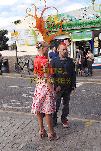 """*Exclusive*.""""Londoners"""" Polish TV series filming in  Camden and Camden Lock, London, England 13th July 2009.CAP/IA.©Ian Allis/Capital Pictures"""