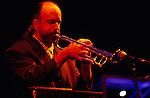 Randy Brecker. Trumpet player. Texaco Jazz Festival. Canary Wharf 1993