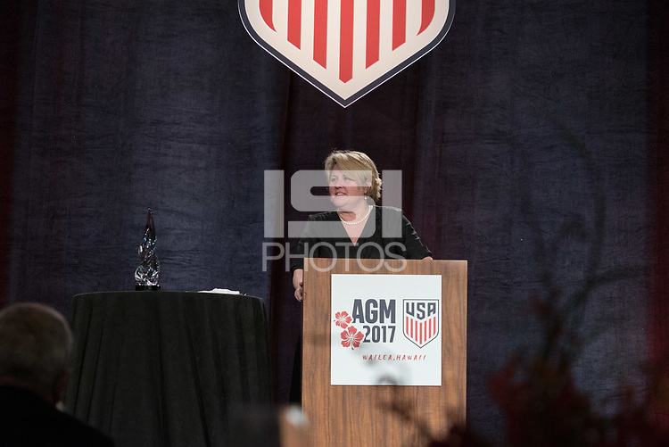 Maui, Hawaii - March 4, 2017: US Soccer Annual General Meeting 2017.