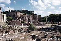 Roma 13 May 2010.Roman Forum. Foro Romano