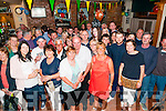 60th Birthday : Martin Scanlon, Listowel celebrating his 60th birthday with family & friends at Brosnan's Bar, Listowel on Saturday night last.