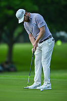 Brandon Grace (RSA) watches his putt on 2 during round 4 of the 2019 Charles Schwab Challenge, Colonial Country Club, Ft. Worth, Texas,  USA. 5/26/2019.<br /> Picture: Golffile | Ken Murray<br /> <br /> All photo usage must carry mandatory copyright credit (© Golffile | Ken Murray)