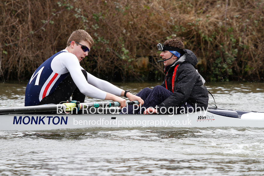 Crew: 60  J16A.8+  Monkton Combe Sch  MNK-Shaw<br /> <br /> Gloucester Spring Head 2017<br /> <br /> To purchase this photo, or to see pricing information for Prints and Downloads, click the blue 'Add to Cart' button at the top-right of the page.
