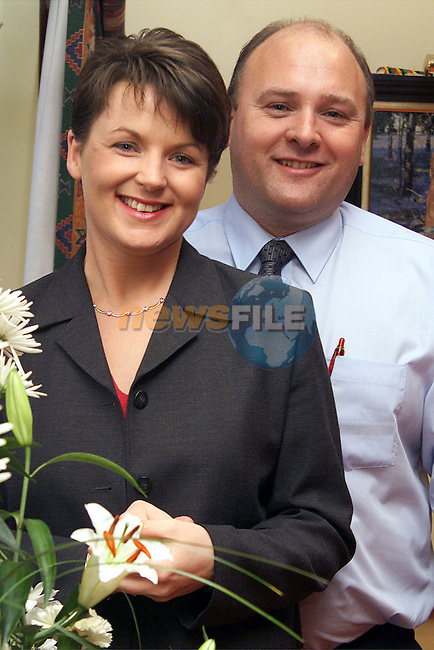 Michael McCoy with his wife Tanya in Moorehall Lodge, Ardee to celebrate it's 3rd year of opening..Picture: Paul Mohan/Newsfile