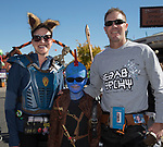 The Brown family during Pumpkin Palooza in Sparks, Nevada on Sunday, Oct. 22, 2017.