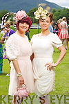 Michelle Hurley (Killarney) and Pricilla Cronin (Newcastlewest) pictured at Ladies Day, Killarney Races on Thursday afternoon..