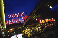 Pikes Place, Seattle, USA - June 2009.