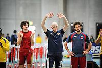 Ancona, Italy. 06/03/2016<br /> Campionati Italiani Assoluti Idoor2016 nella foto Fabrizio Schembri, specializzato nel salto triplo, Di Loreto - Fortunato/ BuenaVista*photo