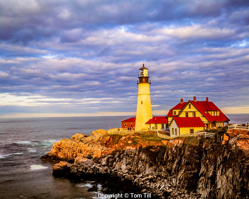 Portland Head Lighthouse, Cape Elizabeth, Maine   Built in 1790