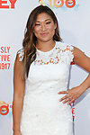 Actress Jenna Ushkowitz arrives at the Grey Centennial Gala at Madison Square Park in New York City on May 18, 2017.