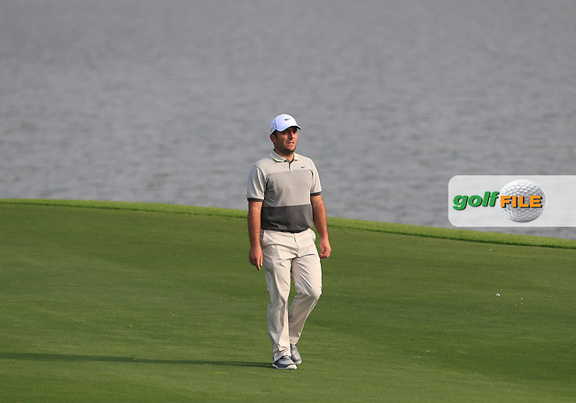 Francesco Molinari (ITA) on the 18th fairway during the BMW Masters at Lake Malaren Golf Club in Boshan, Shanghai, China on Sunday 15/11/15.<br /> Picture: Thos Caffrey | Golffile<br /> <br /> All photo usage must carry mandatory copyright credit (&copy; Golffile | Thos Caffrey)