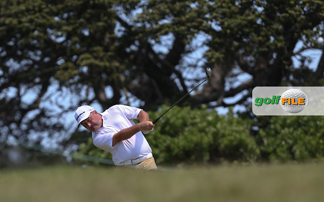 Damien McGrane (IRL) plays down to the last during Round Three of The Africa Open 2014 at the East London Golf Club, Eastern Cape, South Africa. Picture:  David Lloyd / www.golffile.ie