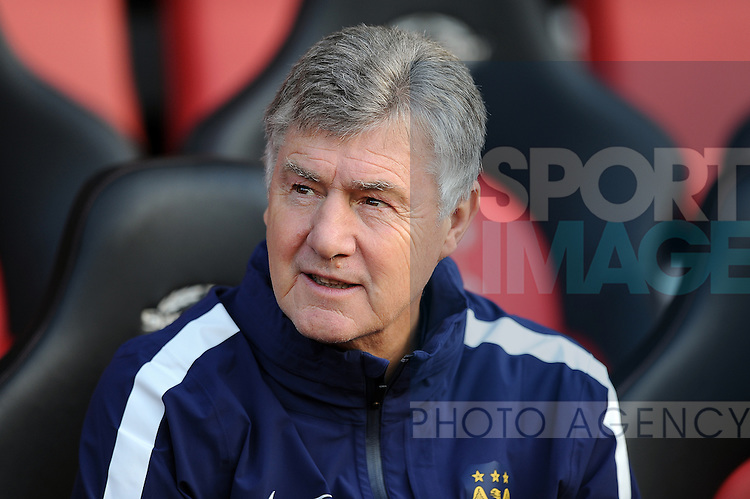 Manchester City assistant manager Brian Kidd<br /> - Barclays Premier League - Southampton vs Manchester City - St Mary's Stadium - Southampton - England - 30th November 2014 - Pic Robin Parker/Sportimage
