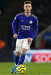 James Maddison of Leicester City during the Premier League match against Everton at the King Power Stadium, Leicester. Picture date: 1st December 2019. Picture credit should read: Darren Staples/Sportimage