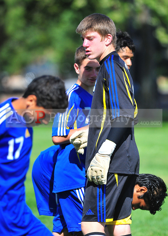 Keinan Weeks and the Tri Valley SC Arsenal Play in the 2010 BUSC Summer Classic in Pleasanton California August 14, 2010. (Photo by Alan Greth)